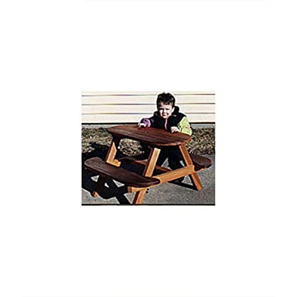 Woodworking Project Paper Plan To Build Child S Picnic Table