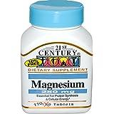 21st Century Magnesium, 250 mg, 110 Tablets