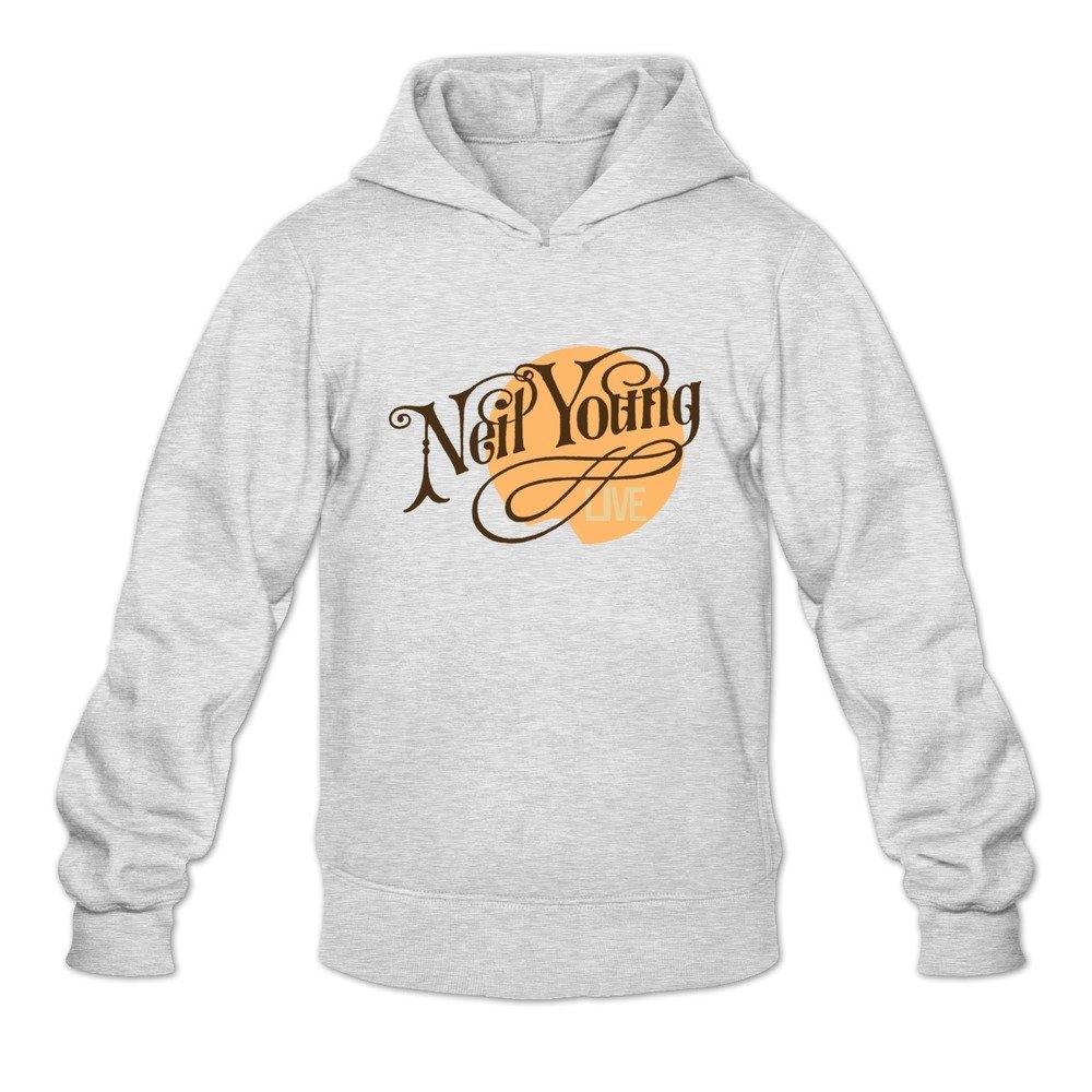 Tavil Neil Young 100% Cotton Hoodies For Men