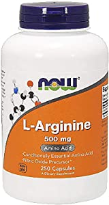 Now Foods L-Arginine, 500 mg, 250 Caps