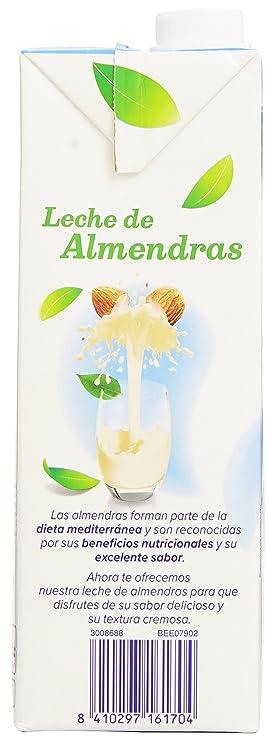Alpro - Bebida Almendras Original - 1 L: Amazon.es: Alimentación y bebidas