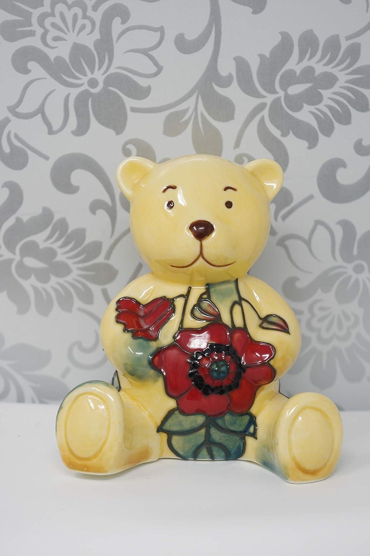 Old Tupton Ware Art Deco Yellow Poppy Design 3.5 Teddy