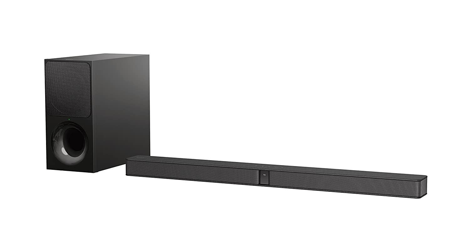 Sony HT-CT290 Soundbar, 2.1 Canali, Potenza 300W, Subwoofer wireless, Bluetooth, NFC, HDMI, USB, Nero