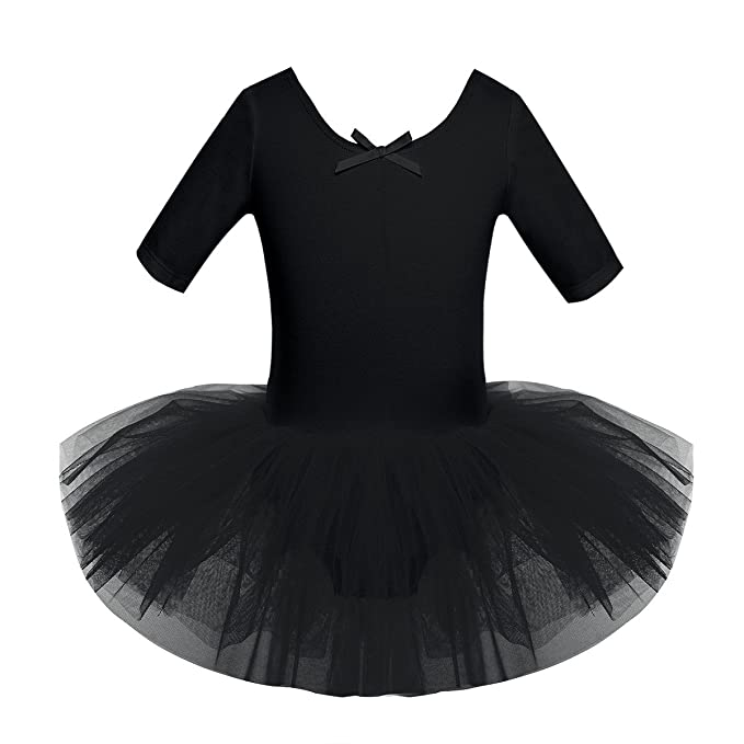 Baby Kid Girl Gymnastics Ballet Dance Tutu Dress Leotard Skirt Costume Dancewear