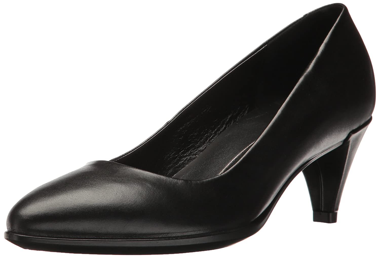 Black ECCO Womens Shape 45 Sleek Dress Pump
