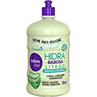 Salon Line - Linha Tratamento (Hidra) - Creme Para Pentear Babosa 1000 Ml - (Salon Line - Treatment (Hidra) Collection…