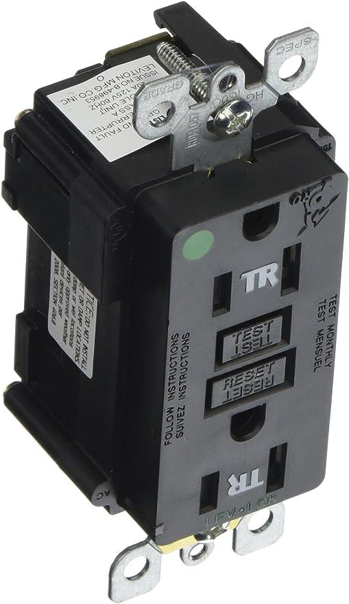 15 amp circuit wiring leviton mt759 hgw lev lok modular wiring device  15 amp  125 volt  leviton mt759 hgw lev lok modular