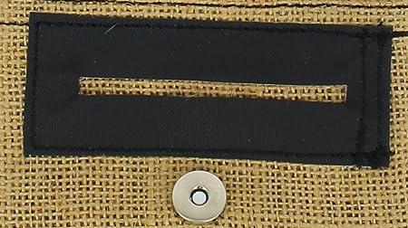 ... PLAN B - TWO DAYS SACO NATURAL yute- Tabaquera ultra compacta de bolsillo, compartimentos para boquillas, papel y picadura. Bolsa extraíble en goma EVA.