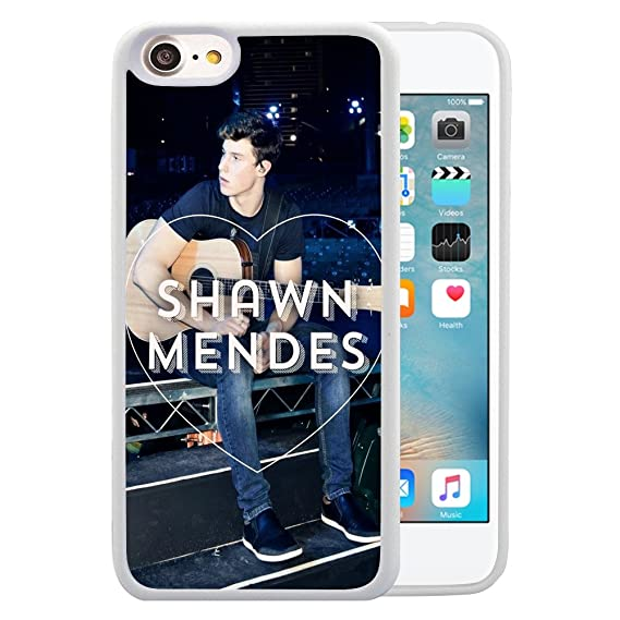 buy online fb1fd ca6d9 Amazon.com: iPhone 7 4.7 Case,ULAY Shawn Mendes TPU and PC White ...
