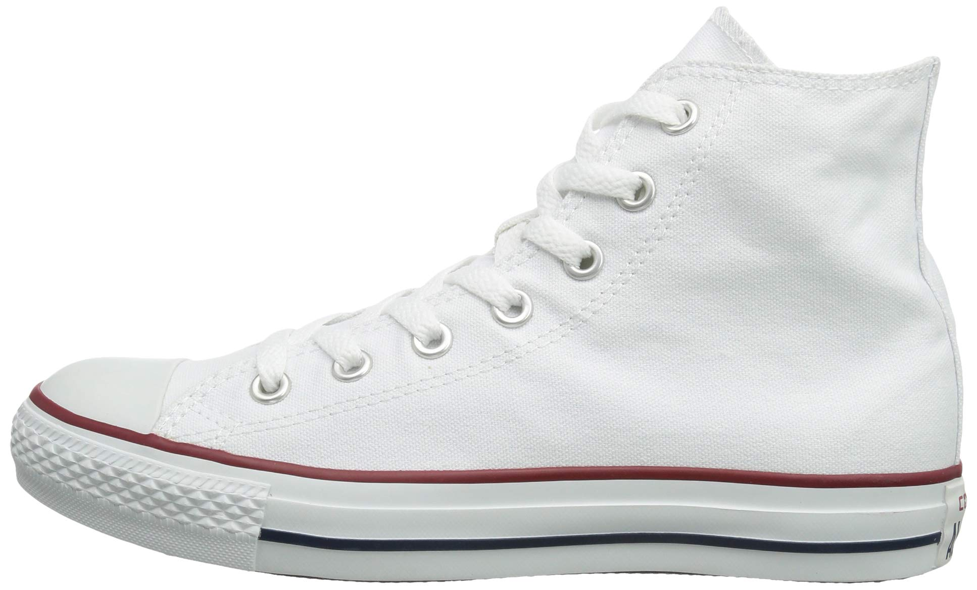 Chuck Taylor All Star Canvas High Top, Optical White, 3 M US by Converse (Image #5)