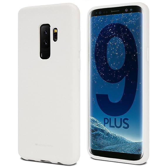 outlet store e0efa 9c1cd Galaxy S9+ Plus Case for Samsung Galaxy S9 Plus, [Thin Slim] GOOSPERY  [Flexible] Soft Feeling [Matte] Silky TPU Rubber Liquid Gel Silicone Case  ...
