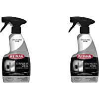 Weiman Stainless Steel Cleaner and Polish Trigger Spray - Protects Against Fingerprints and Leaves a Streak-Less Shine…