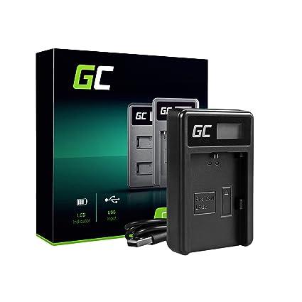 Green Cell® LC-E6 LC-E6E LC-E6N Cargador para Canon LP-E6 Batería ...