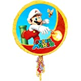 BirthdayExpress Super Mario Party Supplies - Pull-String Pinata