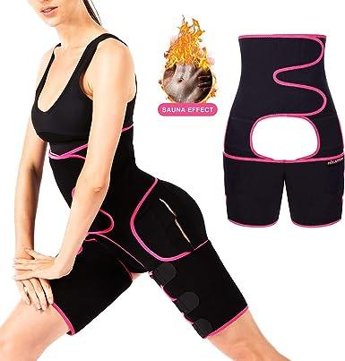 Weight Loss Women Full Body Shaper Arm Slim Shirt SAUNA SUIT Thigh Trimmer Belt