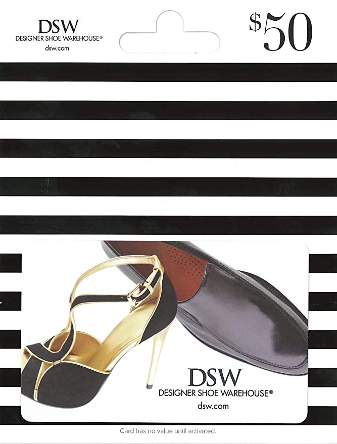 Amazon Com Dsw Gift Card 25 Gift Cards