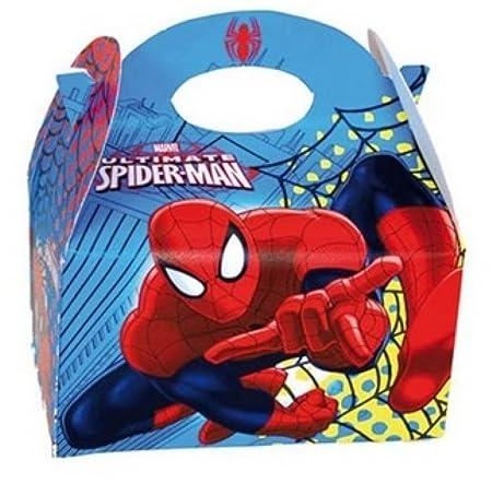 Caja de comida de Fiesta de SPIDERMAN~llevar comida para ...