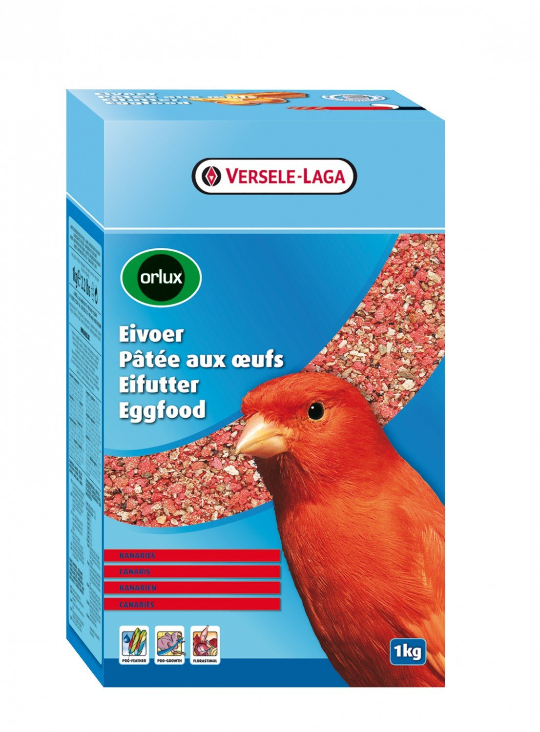 Orlux Eggfood Red Dry for Canaries 1kg 1000g