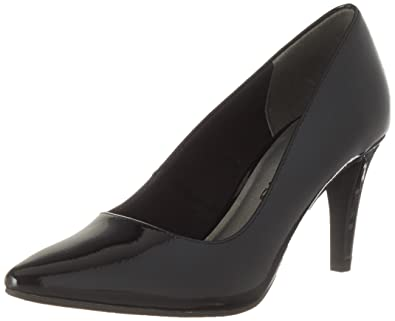 Tamaris Damen 22479 Pumps, Schwarz (Black Patent), 37 EU