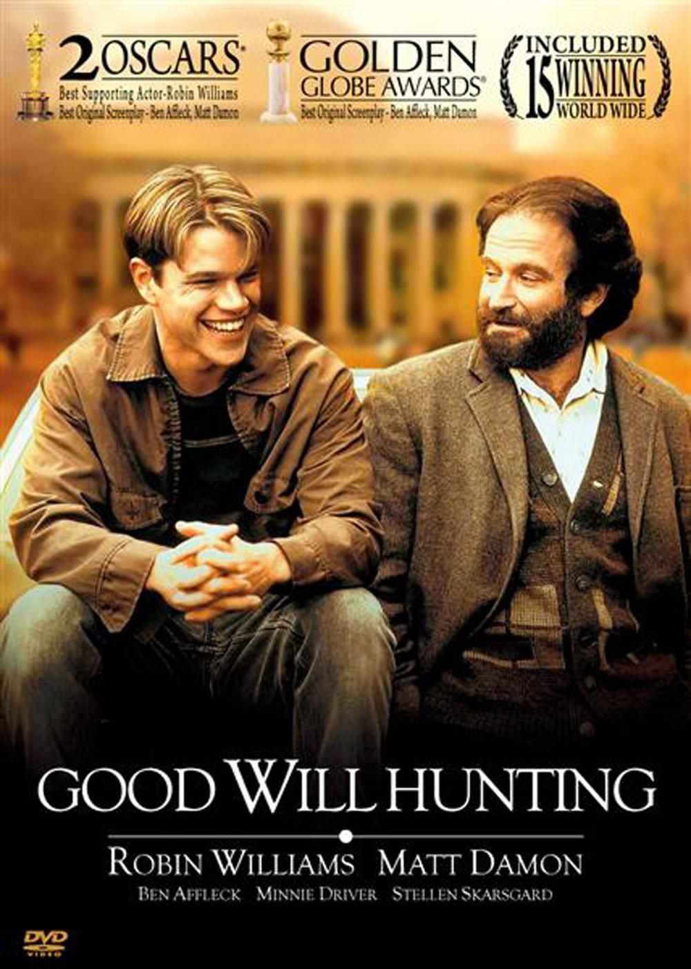 Amazon Com Good Will Hunting 1997 Robin Williams Matt Damon And Ben Affleck Robin Williams Matt Damon Ben Affleck Gus Van Sant Movies Tv
