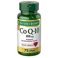Nature's Bounty CoQ-10 100mg 75 Softgels