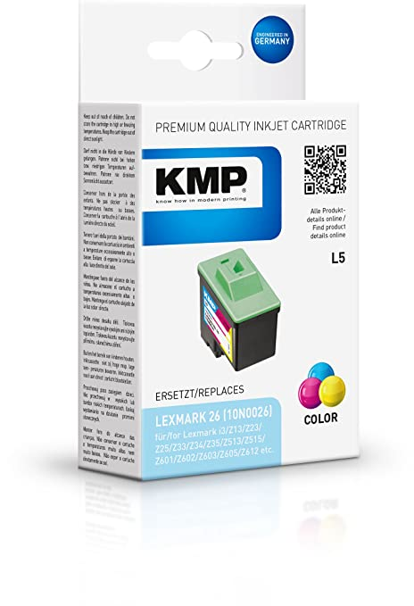 Amazon.com: KMPPrinter Cartucho / Tinta / 1017,4260 ...