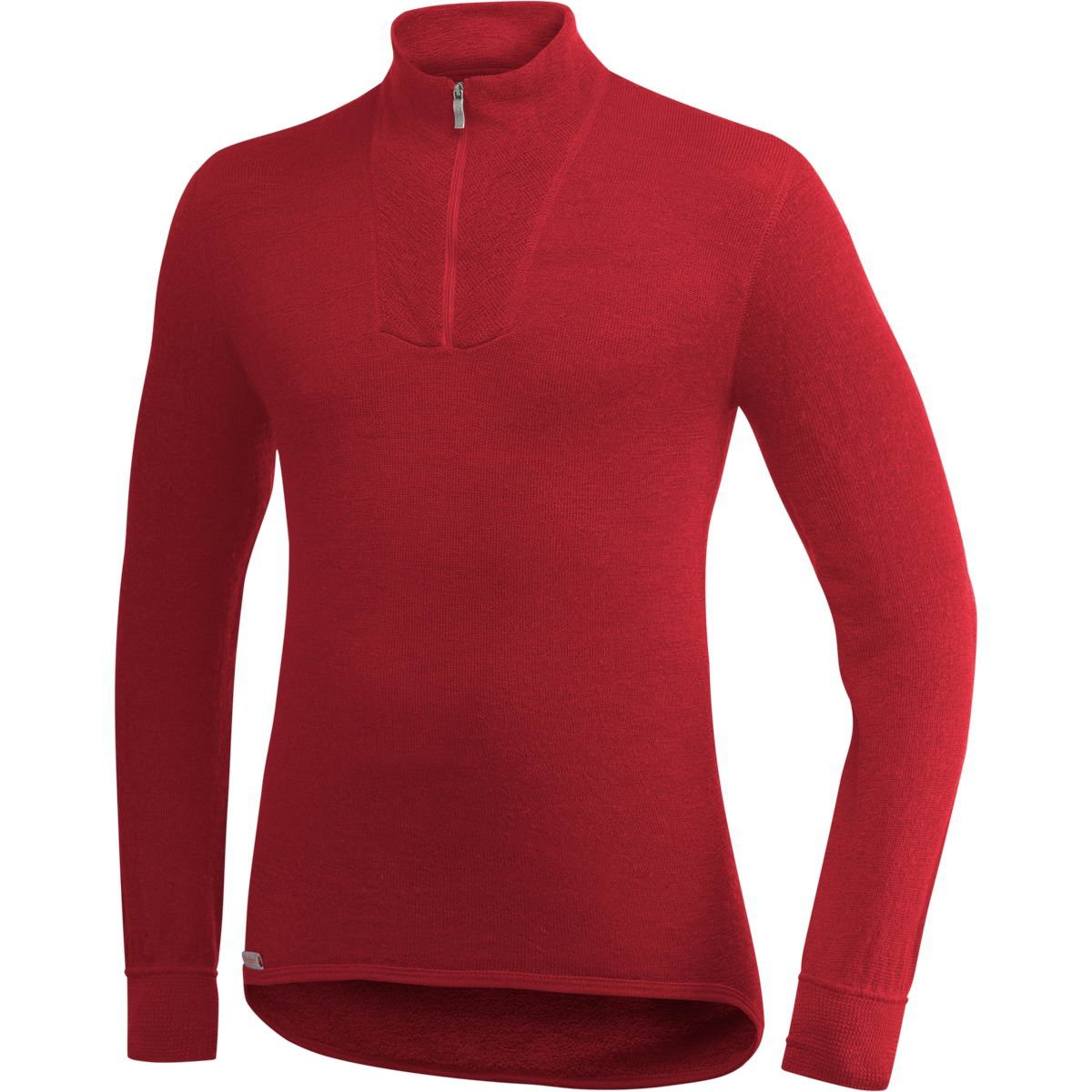 Woolpower Unisex Zip Turtleneck 200 RED L