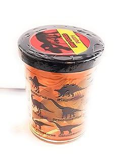 DAM Tutti i demásjuguetesdamtutti Frutti: Dino Figurine 'Jurassic' Putty diam.4.5X h6cm, Asstd. Styles, in Display, 3