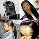 Younsolo Straight Lace Front Wigs Human Hair 14