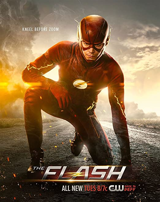Hedendaags Amazon.com: JIONK® The Flash Season 2 Movie Poster 24X31.5 Inch VQ-34