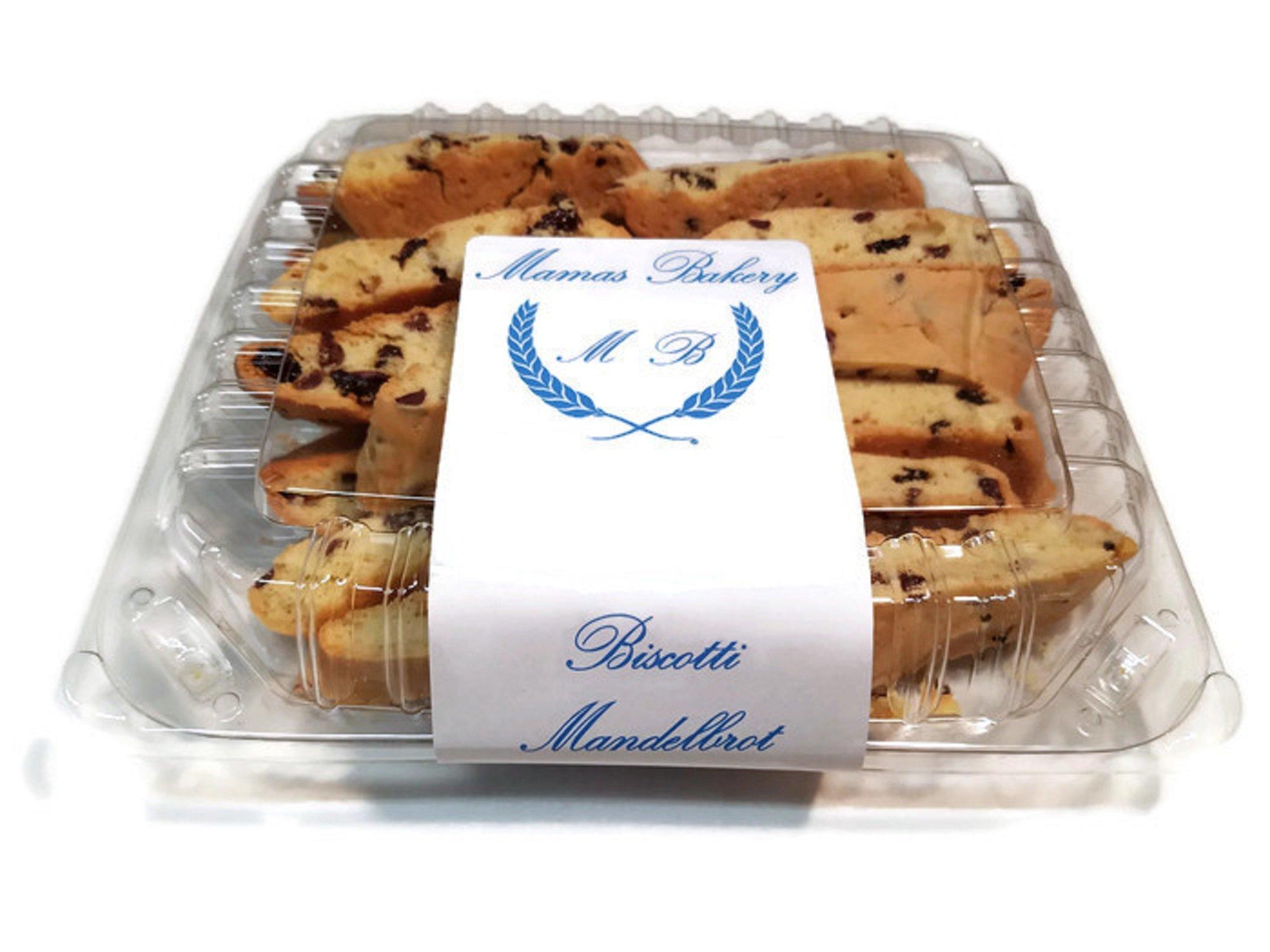 Mamas Bakery Biscotti Mandelbrot (Gluten Free, 3 lbs)