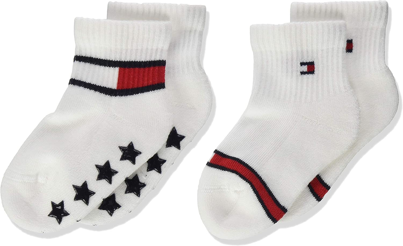 Pack of 2 Tommy Hilfiger Baby Boys Calf Socks,