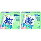Wet Ones Sensitive Skin Hand and Face Wipes Travel Pack, 15-Count (Pack of 12)