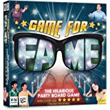 Game For Fame: Hilarious party Board Game for up to 16 players! Family, Friends, Adults, Teens! by Banter Board Games Ltd