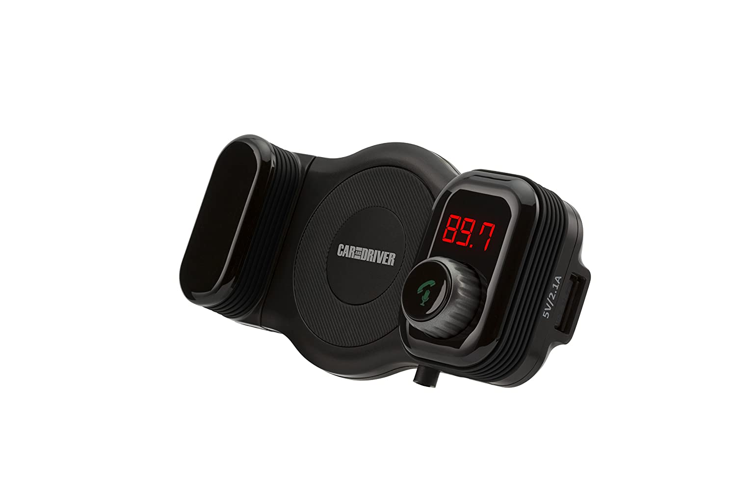 Car and Driver FM Transmitter Bluetooth Vent Mount