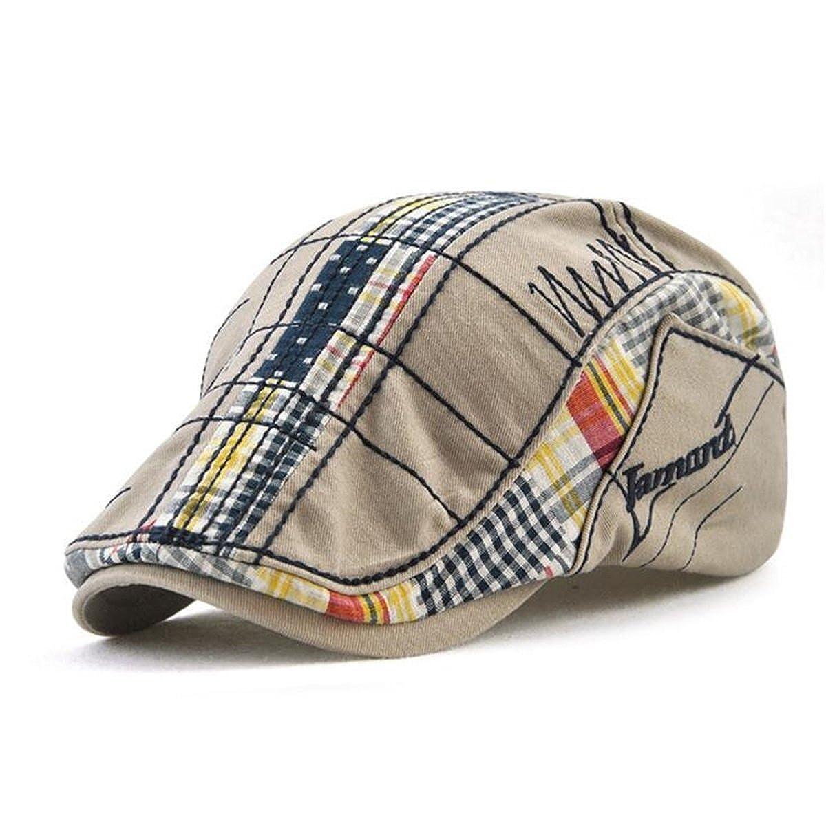 FayTop Men s Women s Newsboy Cap Ivy Irish Flat Hat Cabbie Scally Cap  Cabbie Driving Caps Hats 12945-grey at Amazon Men s Clothing store  9d0e03cdc94