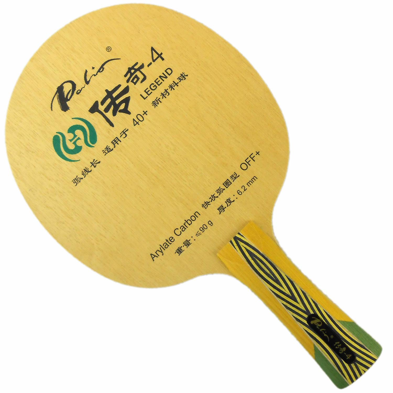 Palio legend-4 with 5木製and 2 Arylateカーボンオフ+ FL Table Tennisブレード   B00R7DMQHI