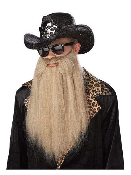 California Costumes 80\u0027s Blues Rocker Beard With Moustache