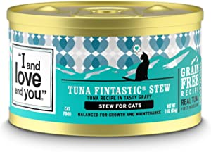 I and love and you Naked Essentials Canned Wet Cat Food - Grain Free, Canned Stew and Pate (Variety of Flavors)