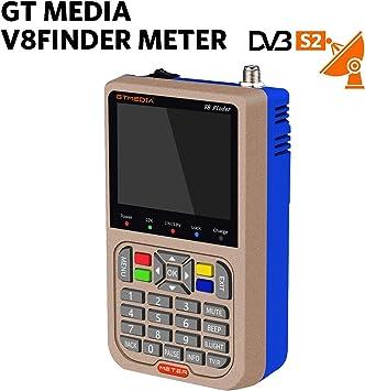 GTmedia V8 Satélite Finder DVB-S/DVB-S2 Localizador Buscador de ...