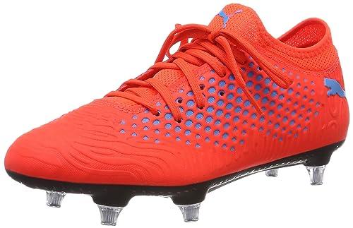 Puma Herren Future 19.4 SG Fußballschuhe Orange