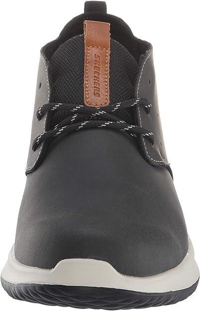 Skechers Herren Delson Clenton Chukka Boots, grau: Skechers CqBAr