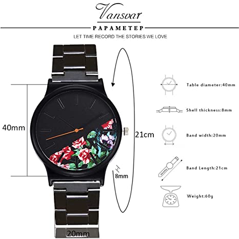 Amazon.com : liberalism Vintage Women Bracelet Watches Casual Ladies Quartz Stainless Steel Analog Wrist Watch Gift Clock Reloj Mujer Pulsera(D, ...