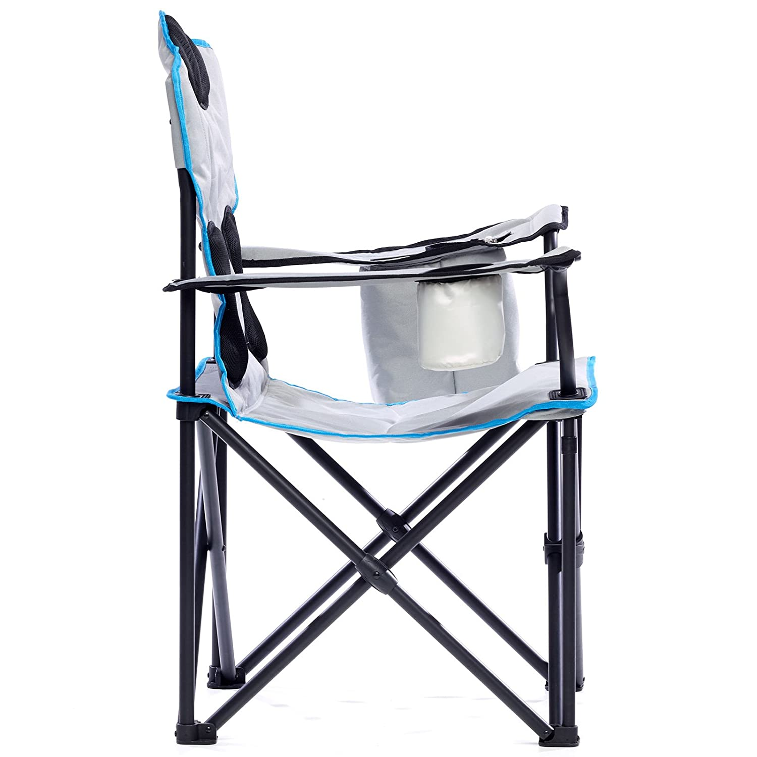 Grey Skandika Unisexs Camping Deluxe Chair X-Large