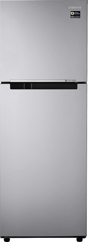Samsung 253L 2 Star Inverter Frost Free Double Door Refrigerator (RT28T3032SE/HL, Elective Silver)