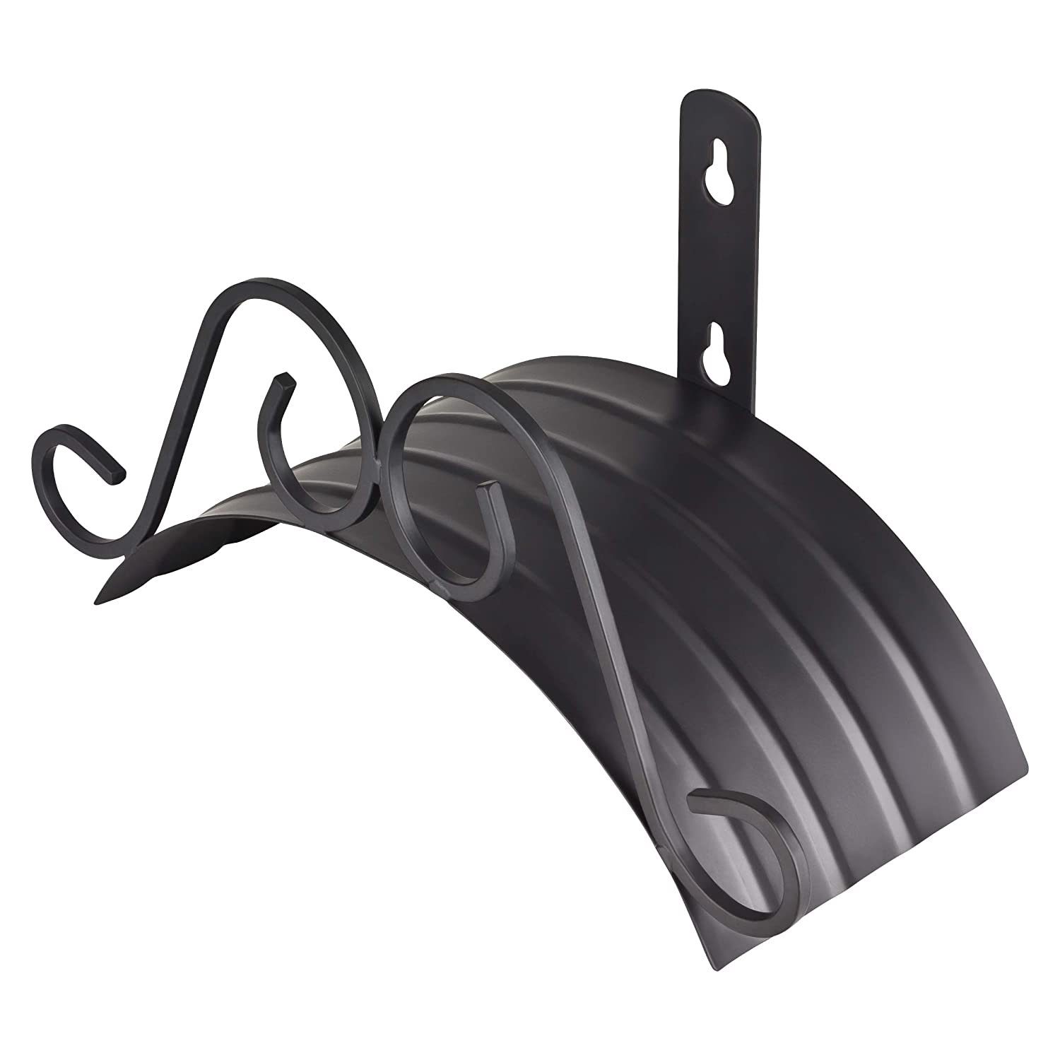 GardenMate Classic Wall Mounted Hose Hanger for a 40 metre Long Hose, Made From Weather-Resistant Powder-Coated Metal GardenMate® 4260313265350