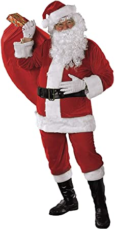 Oferta amazon: Rubies Disfraz Papa Noel Premium AD