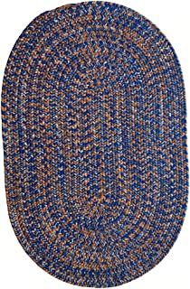 product image for Capel Rugs Team Spirit Area Rug, 8' x 11', Blue Orange