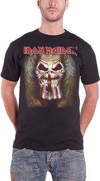 """Iron MAIDEN /""""Eddie Candle Finger/"""" T-shirt nouveau /& OFFICIEL!"""
