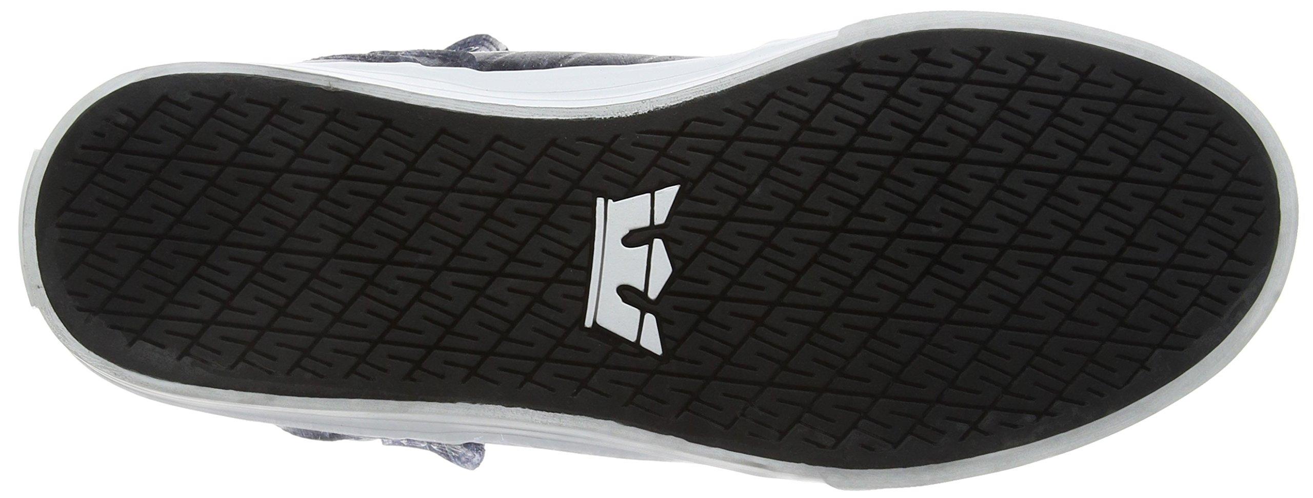 Supra Skytop Skate Shoe, Black/White, 5.5 Regular US by Supra (Image #3)